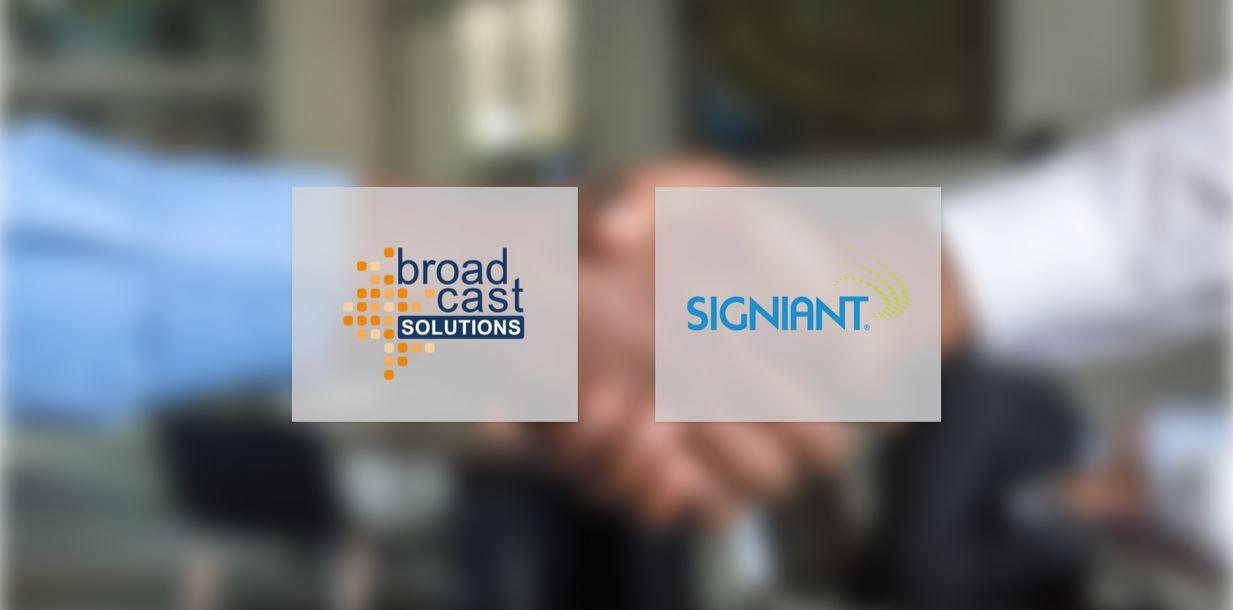 Signiant startet Partnerschaft mit Broadcast Solutions (Foto: Broadcast Solutions)