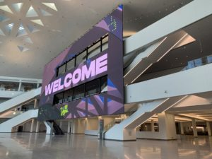 Samsung Signage im LVCC (Fotos: Samsung)