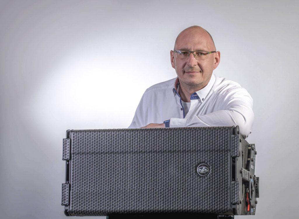 Arne Deterts (Foto: DAS Audio)