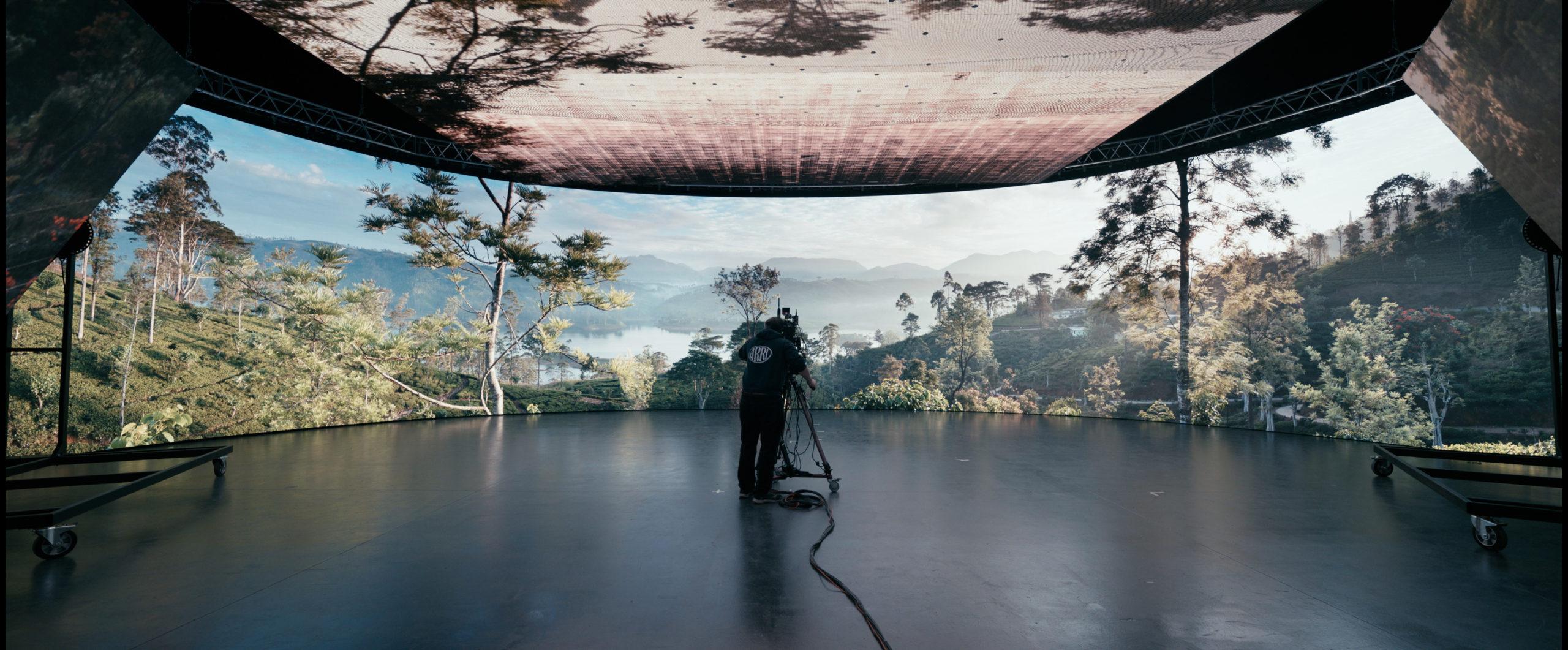 Mixed-Reality-Studio in London (Fotos: ARRI/David Noton)
