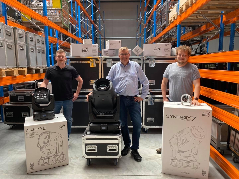 Raphael Berndzen, Michael Timmer und Malte Kaß (von links, Foto: BT.innotec GmbH)