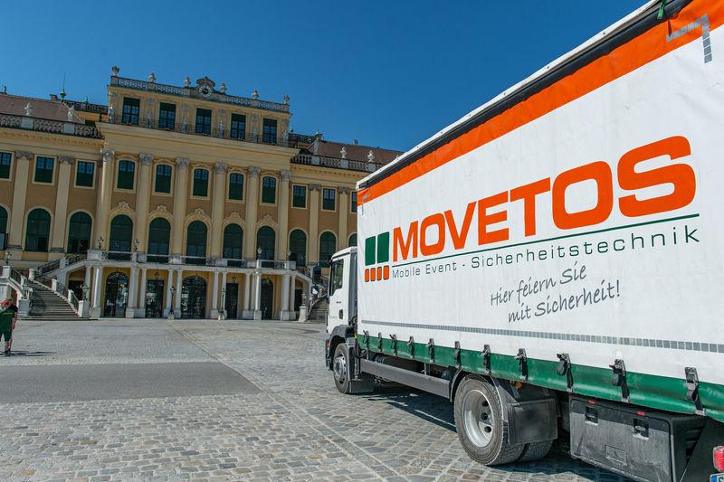 Movetos beim Sommernachtskonzert (Fotos: Movetos Austria)