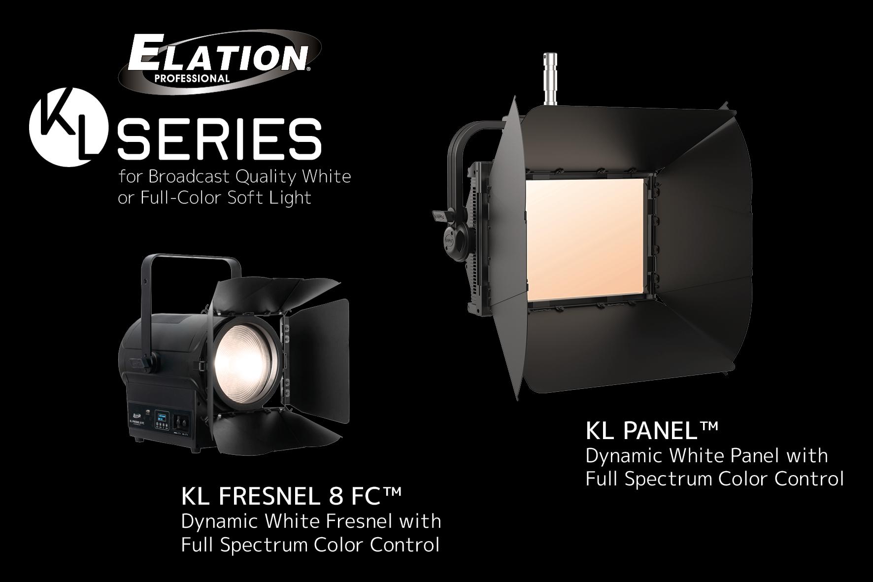 Hochwertiges Key Light für beleuchtungsintensive Einsatzorte von Elation