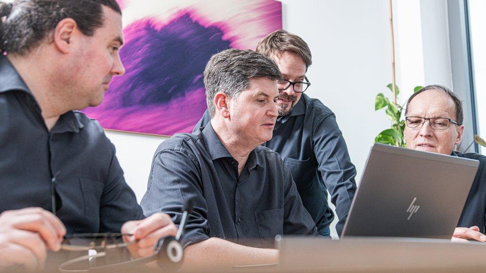 Das Team von Broadcast Solutions Produkte und Service (Foto: Broadcast Solutions GmbH)