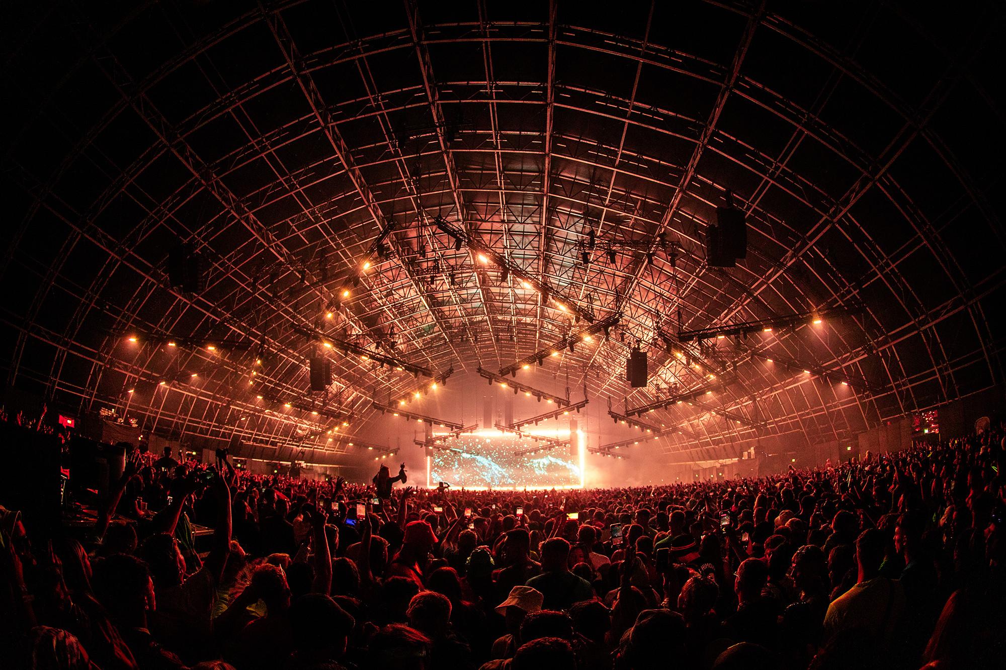 Creamfields Festival (Fotos: Blackmagic Design)
