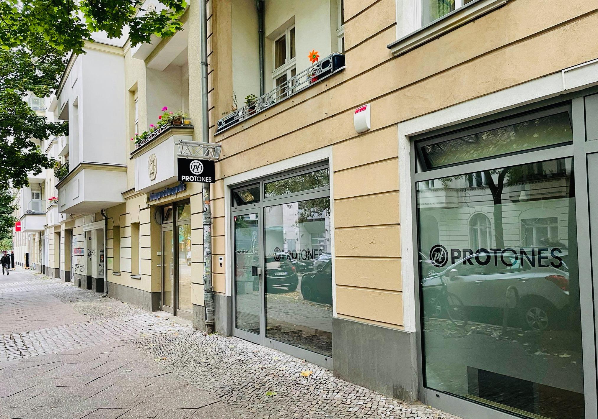 Neuer Standort in Berlin (Foto: Protones GmbH)